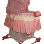 baby girl rocking bassinet